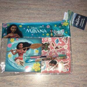 Other - NEW Moana Stationery Set